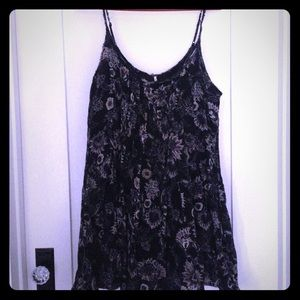 Free People floral cotton voile sundress